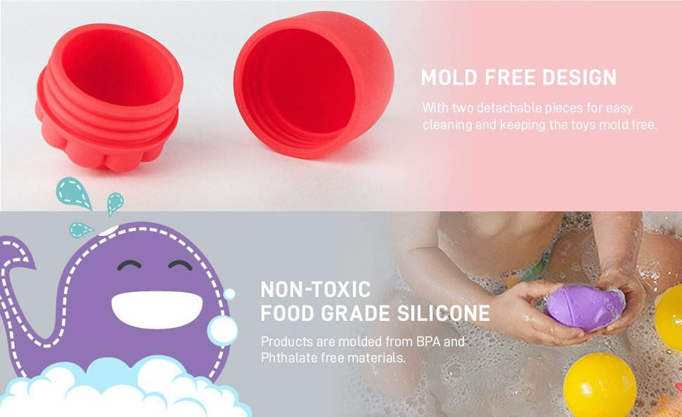 silicone bath toy Characters