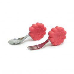 palm grasp spoon n fork set - marcus