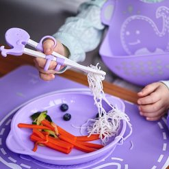 learning-chopsticks-for-mealtime-baby
