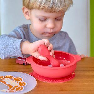 Palm-Grasp-Self-Feeding-Spoon