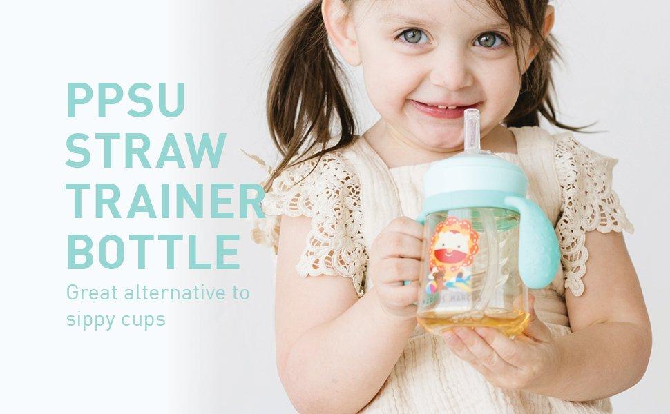 PPSU Straw Container bottle