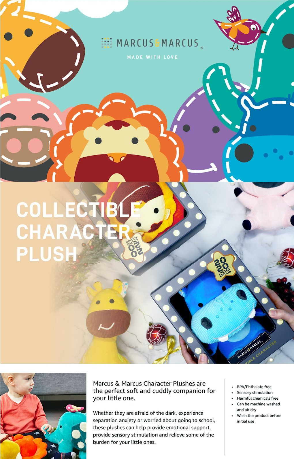 Collectible Character Plush