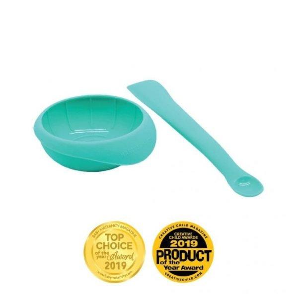 Masher Spoon & Bowl Set Baby Maternity Magazine Award Creative Child Magazine Award