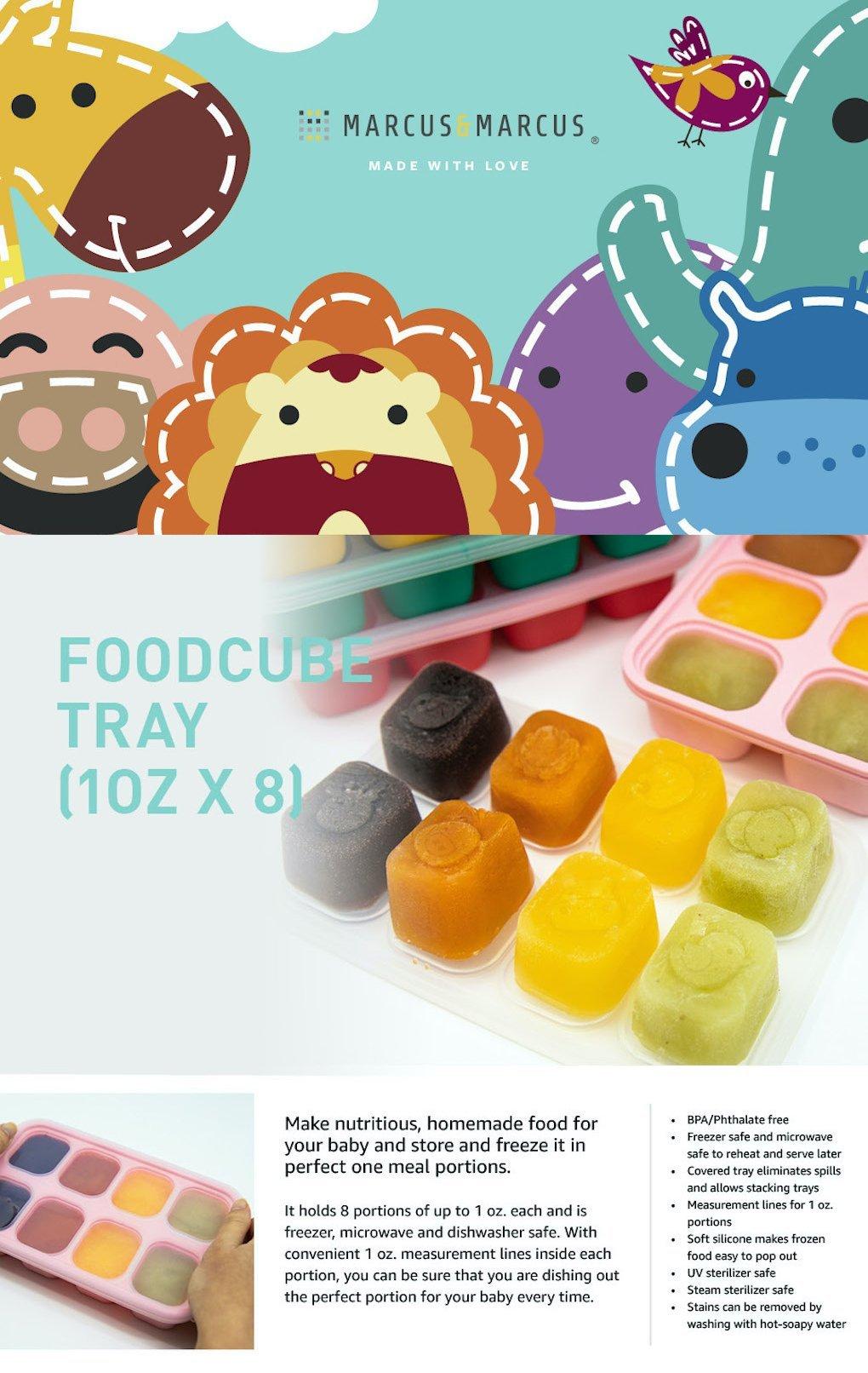 Food Cube Tray (1oz x 8)