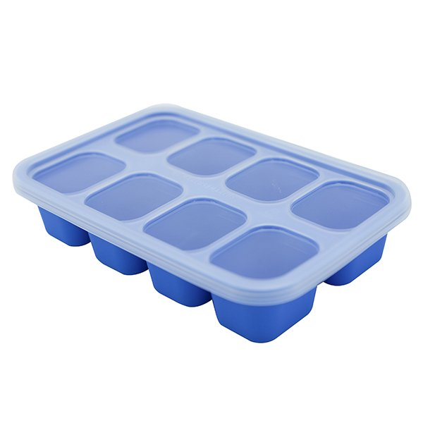 矽膠副食品儲存盒 (1oz x 8)